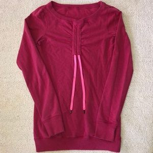 Lululemon tie front sweater size 6 no size tag